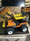 1981 Tonka Mountain Master Jeep Battery Powered w/box NOT WORKING FOR PARTS