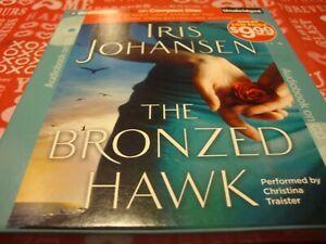 """AUDIOBOOK: """"The Bronzed Hawk""""  By Iris Johansen (2011, 5 CDs, Unabridged)     T6"""