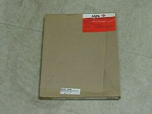 PK OF 100 AGFA PAPS POS CYAN OVERLAY PROOFING MATERIAL KKV2T000 10X12 4221007Z