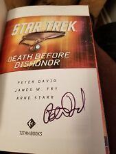 Star Trek Comics Classics: Death Before Dishonor TBP Graphic Novel Titan Books