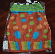 New MACKENZIE-CHILDS Pet Dog Sweater Adorable Spot's – LARGE - Sku 97000-0014