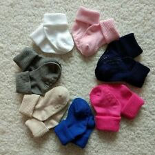 12 Pairs Muti Color Infant Baby Socks Non Skid with Grip Newborn 0-12 month