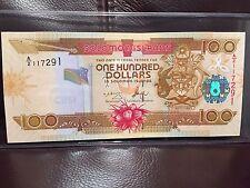 2010 Solomon Islands 100 Dollar Banknote