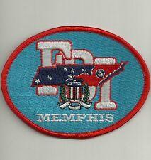 Fbi: Tennessee memphis SWAT Police Patch SEK placa de policia unidad especial