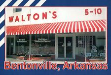 Walton's Five & Dime, Bentonville Arkansas, Wal-Mart Visitor's Center - Postcard