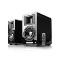AirPulse A100 Hi-Res Audio Certified Active Speaker System - Pair Black