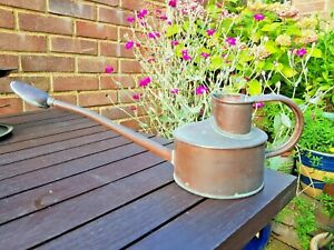 Vintage Genuine Haws Copper Watering Can & Rose Gardening Indoor Bonsai Rose