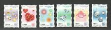 HONG KONG CHINA 2019 HEARTWARMING GREETING STAMPS COMP. SET OF 6 STAMPS IN MINT
