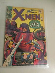 X-Men #16 Vol 1 GOOD  CONDITION  3rd Appearance of the Sentinels 1966 No Res