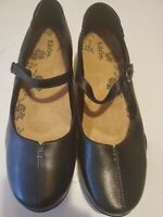 TAOS  MARY JANE   BLACK LEATHER SHOES SIZE 10