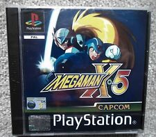 PS1 PlayStation Sony MEGAMAN X 5 Factory sealed  PAL boxed amazing !!!