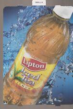 Lipton Iced Tea - Lemon Bottle Vending Machine Sign