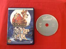 BELLE Y EL CLOCHARD 2 LA LLAMADA CALLE CLÁSICO 59 DISNEY DVD VÍDEO PAL PELÍCULA