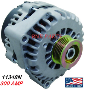 300 AMP 11348N GMC CHEVY Alternator EXPRESS SILVERADO HIGH OUTPUT SIERRA CLASSIC