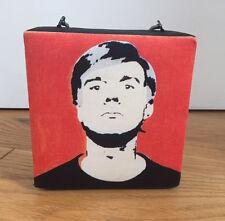 Philip Treacy Andy Warhol Portrait Campbell Soup Print Clutch Handbag NEW