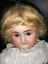 19� German Bisque Doll.