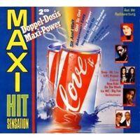 Maxi Hit Sensation (1990) Milli Vanilli, Technotronic, Bad Boys Blue, L.. [2 CD]