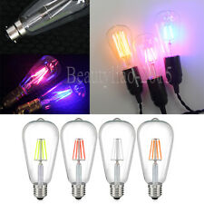 Unique Vintage Edison E27 B22 Cap 2W-60W LED/Tungsten Filament Lights Bulbs 220V