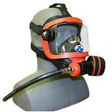 OTS - Ocean Technology Systems Guardian Full Face Mask W/color braided LP Hose