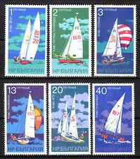 Bulgaria - 1973 Sailing / Ships - Mi. 2288-93 MNH