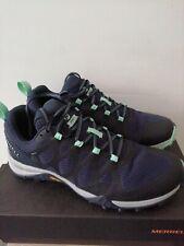 UK 5 Merrell Siren 3 GTX Vibram Hiking Walking Trail Shoes Navy EU 38 US 7.5