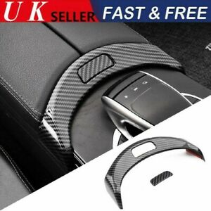 Cover Armrest Box Button Frame Accessories For Mercedes Benz C Class W205 GLC