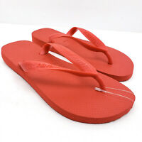 Havaianas Womens Size 6 Mens 5 Ruby Red Slip On Casual Flip Flops 4000029