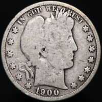 1900 | U.S.A. Barber Half Dollar | Silver | Coins | KM Coins