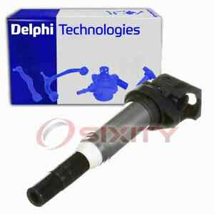 Delphi Ignition Coil for 2003-2007 BMW 525i Wire Boot Spark Plug  xt