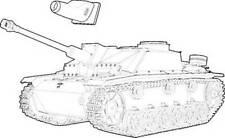 Czech Master 1/35 Stug III  Exterior set for Tamiya kit # 3054