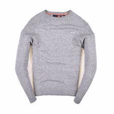 Superdry señores suéter Sweater punto talla s Orange Label gris 88197