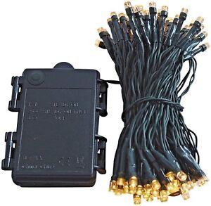 LED Lichterkette Batterie Timer warmweiß kaltweiß batteriebetrieben innen außen
