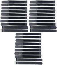 160x16mm cable velcro cinta de velcro cable-cinta de velcro bridas negro 10 St