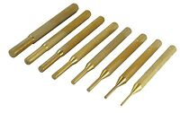 Utopia Tool's Gunsmithing 8PC Brass Pin Punch Set