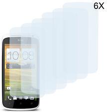 6 x Schutzfolie für HTC One S Matt Folie Displayschutzfolie Anti Fingerprint