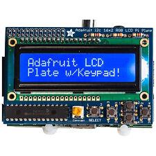 Adafruit Blu & Bianco 16x2 LCD + TASTIERINO Kit per Raspberry Pi [ADA1115]