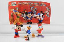 Micky Maus + Donald Duck === Walt Disney 6 Sirup Figuren 1998 OHNE BPZ