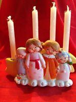 Reduced - Goebel -  Children's Advent Caroling Figurine W/Candles