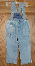 Cp Toddler Denim Strap Bib Pants Jeans Size 4 T