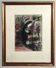 Chagall, Lithographe II, Inspiration, 1963