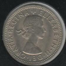 1960 LUSTROUS CHOICE ABOUT UNCIRCULATED Great Britain Shilling #1