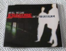 Erasure - Don't Say Your Love Is Killing Me - Scarce Mint 1997 Cd Single