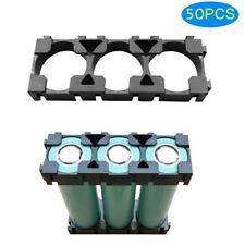 50x 1x3 Cell Spacer 18650 Li-ion Battery Holder Radiating Storage Shell Bracket