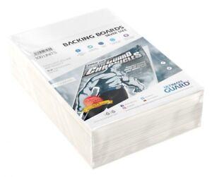 Ultimate Guard backboards Comics Silver Size (100) lot 100 backing boards 71625