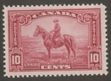 Canada 1935 #223 King George V Pictorial Issue (RCMP) - F MH
