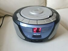 Elta 6712 Tragbarer Radiorecorder CD Player in Grau