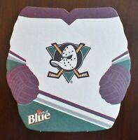 RARE Labatts Anaheim Mighty Ducks Coaster Retired Logo New Old Stock