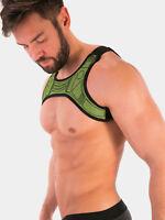 barcode Berlin Harness Mario neongrün 91584/130 gay sexy SALE BLITZLIEFERUNG