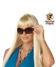Blonde Barbie Lady Gaga Paris Hilton Inspired Fancy Dress Glamour Wig Accessory