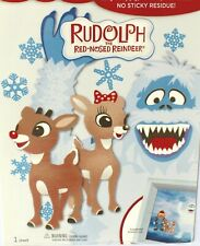 Hallmark Stickers Moveable Decorations Rudolph The Red-Nosed Reindeer NIP